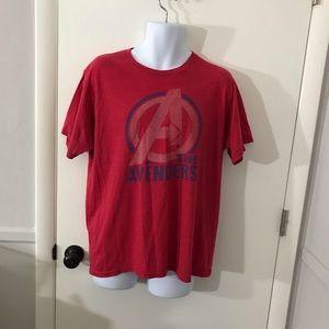 Mens Marvel The Avengers T-Shirt Size Large
